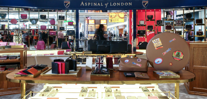 Aspinal of London opens pop-up store in Heathrow T5