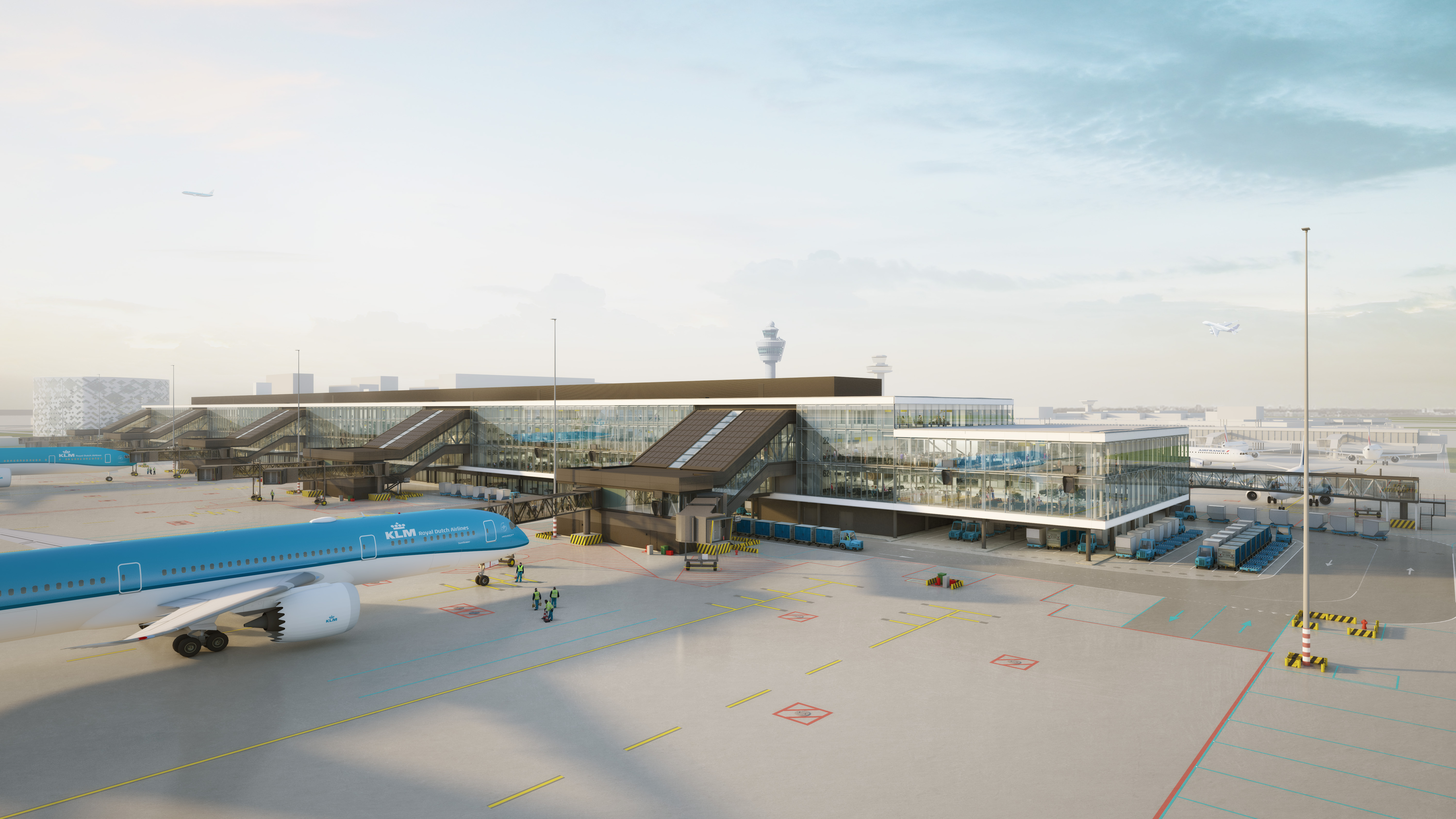 Schiphol airport expansion entrusted to Aecom 93