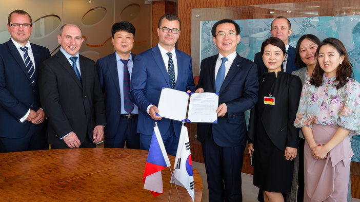 Prague Airport and Incheon International Airport Corporation sign partnership agreement