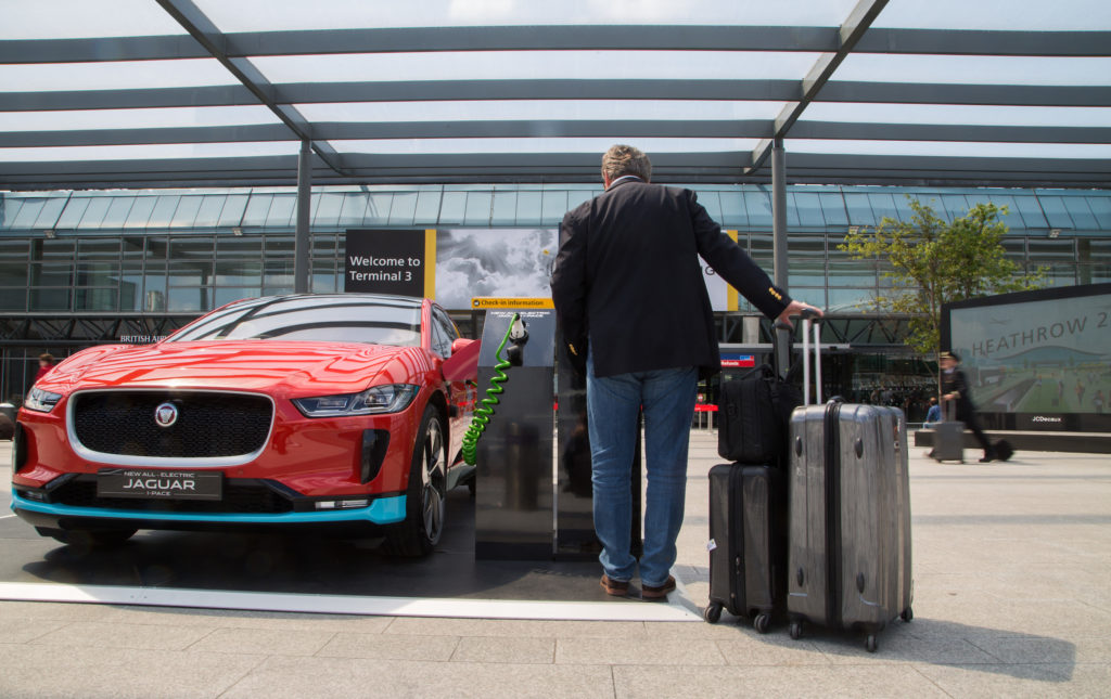Jaguar To Supply 200 Electric Vehicles For Chauffeur
