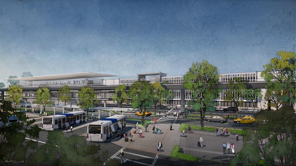 Work to begin on LAX parking and transport facility