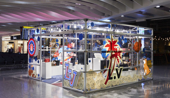 Louis Vuitton to open pop-up store in London Heathrow T4