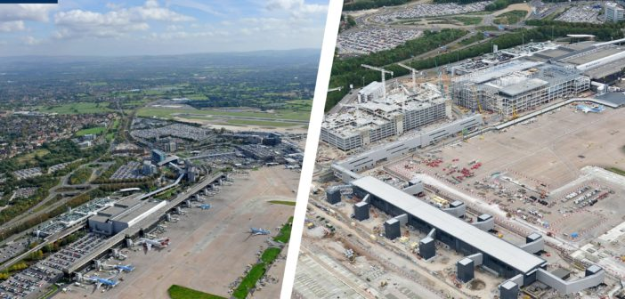 One year on: Manchester Airport marks construction milestone in terminal transformation program