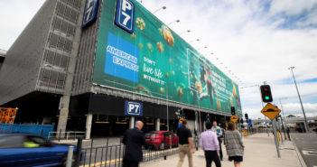 Sydney Airport unveils one of Australia's largest advertising wraps