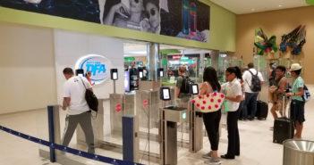 Automated border control gates installed at Punta Cana Airport