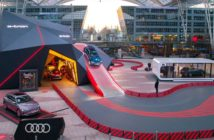 Munich Airport showcases new fully electric Audi e-tron in interactive display