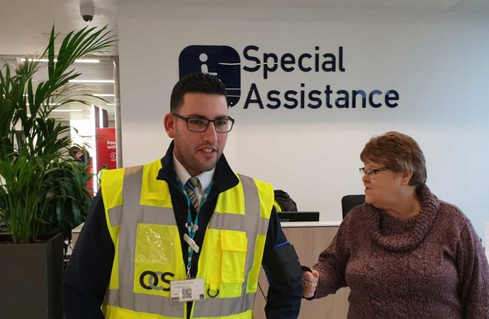 Bristol Airport introduces new solution for assisting visually impaired passengers