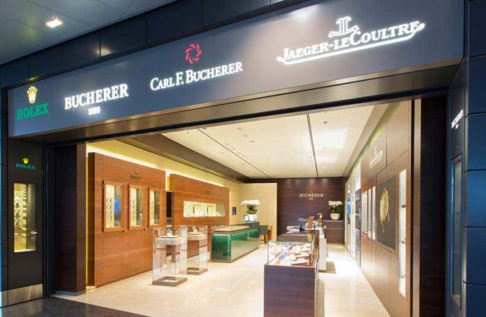 Zurich Airport launches refurbishment of Bucherer multibrand store and Rolex Boutique