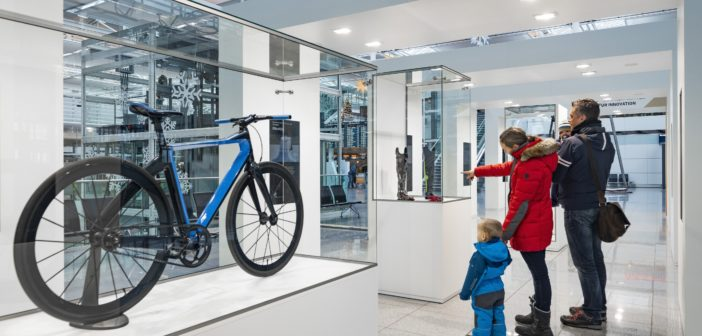 Mobility solutions of the future exhibited at Munich Airport T2