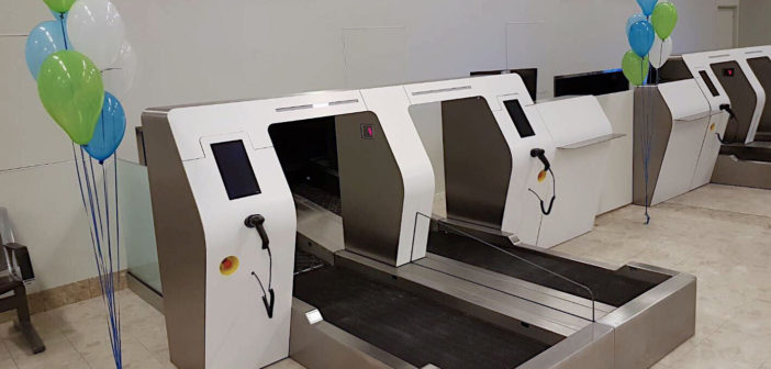 Self-bag-drop kiosks installed at Visby Airport in Sweden