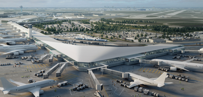 Construction begins on first new terminal 5 gates at Chicago O'Hare International Airport