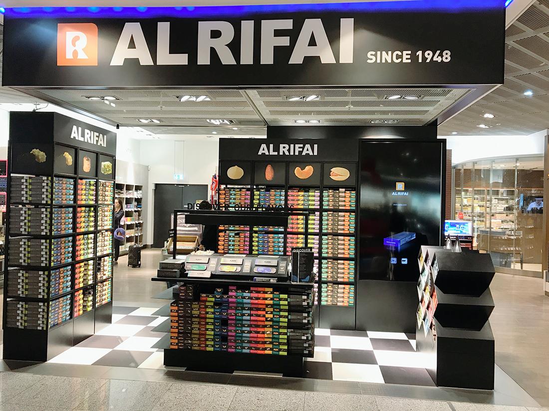 al rifai pop up store promotes nuts and kernels at. Black Bedroom Furniture Sets. Home Design Ideas
