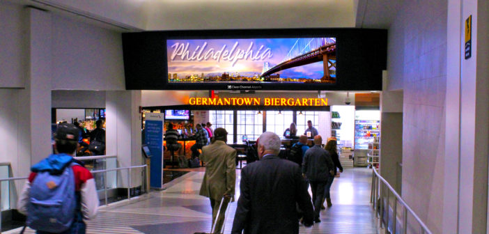 Clear Channel secures seven-year advertising contract at Philadelphia Airport