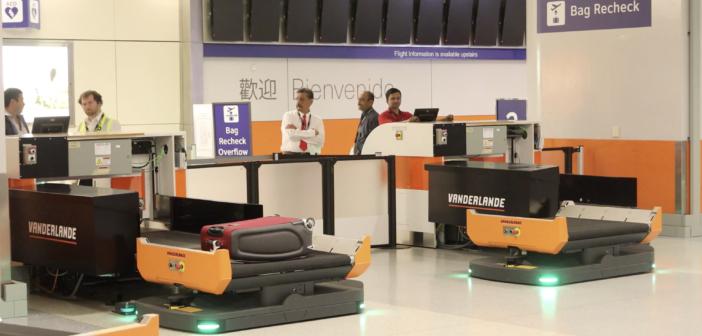 DFW International Airport trials baggage handling technology