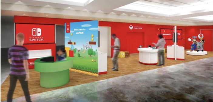 Nintendo gaming experience zone opens at Narita International Airport