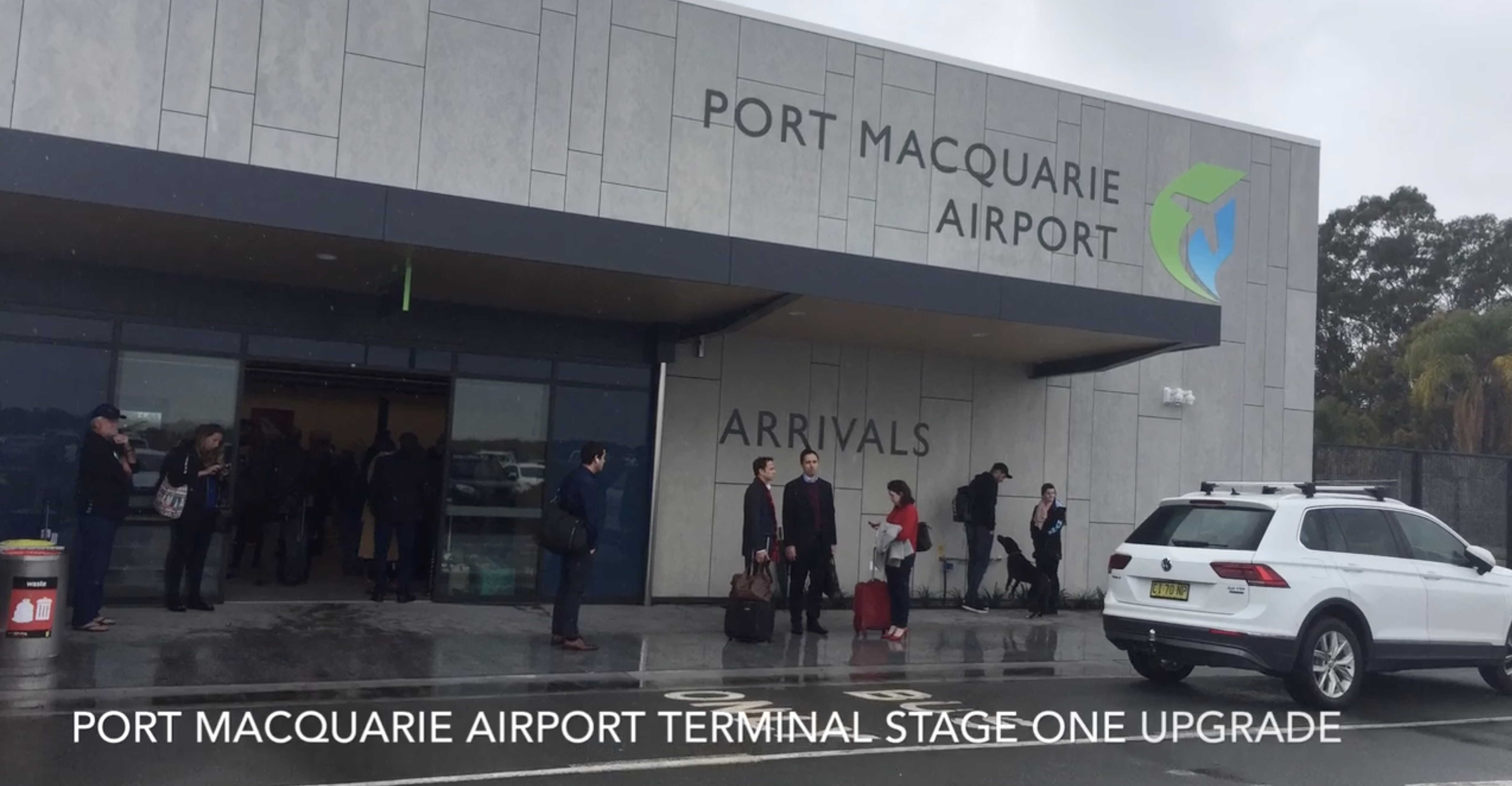 Port Macquarie Airport opens first stage of terminal upgrade