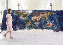 Heathrow unveils Botanical Tapestry