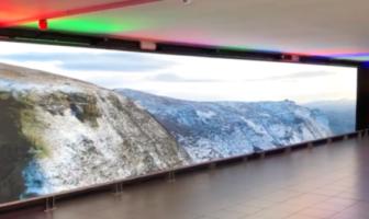 Dublin Airport video installation