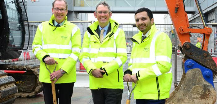 Minister Kicks Off Birmingham Lounge Extension Passenger Terminal Today