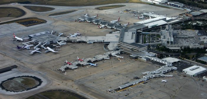 Solar power for Australian airport