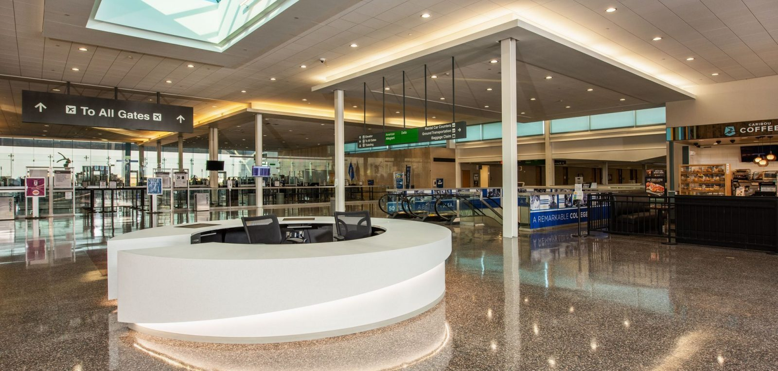 Tulsa Opens Renovated Terminal Area Passenger Terminal Today