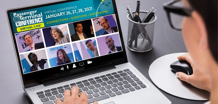 Passenger Terminal CONFERENCE Virtual 'Live' – opens next week!