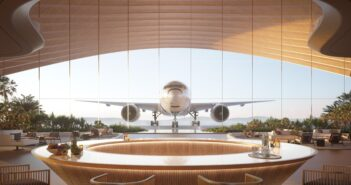 The Red Sea International Airport design by Foster + Partners