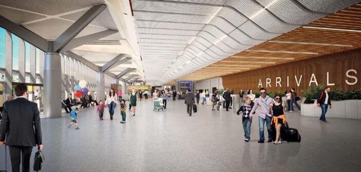 Melbourne completes arrivals hall revamp
