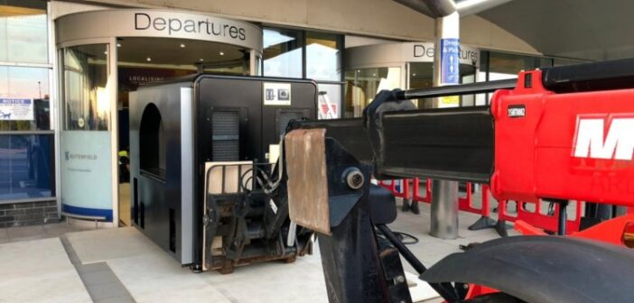 First hold baggage scanner arrives at Guernsey Airport